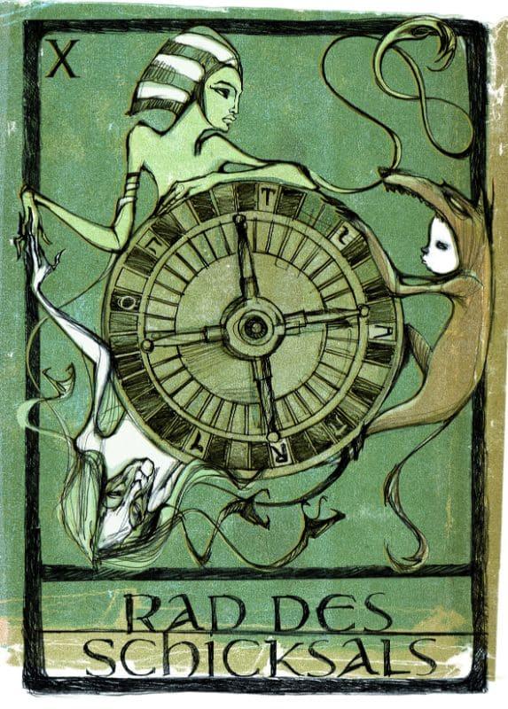 Tarotkarten: Rad des Schicksals