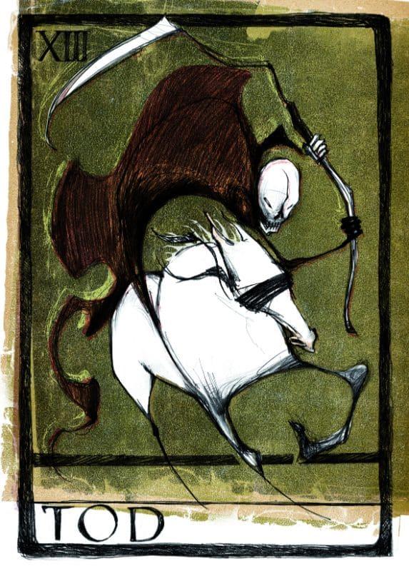 Tarotkarten: Der Tod