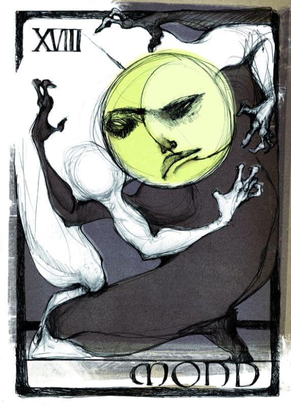 Tarotkarten: Der Mond