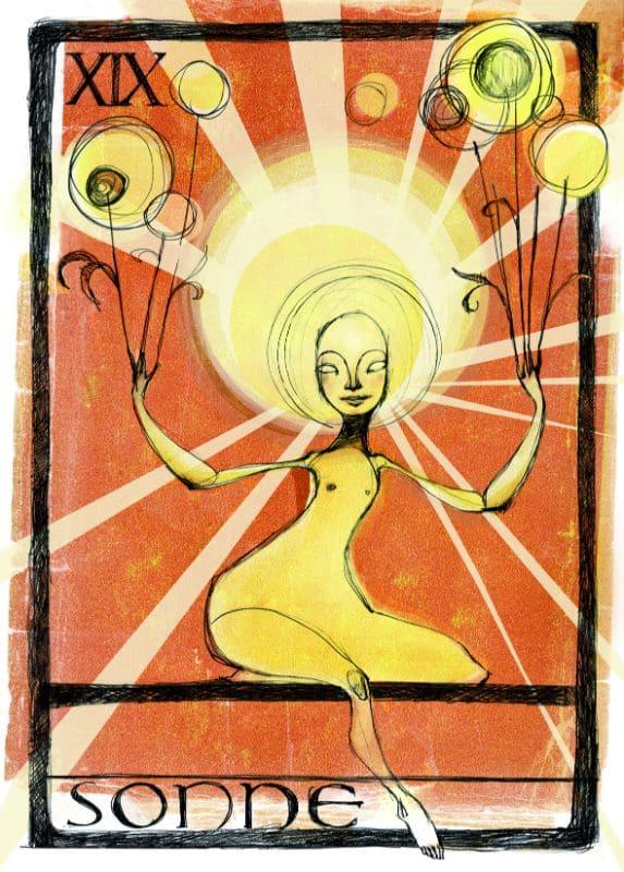 Tarotkarten: Die Sonne