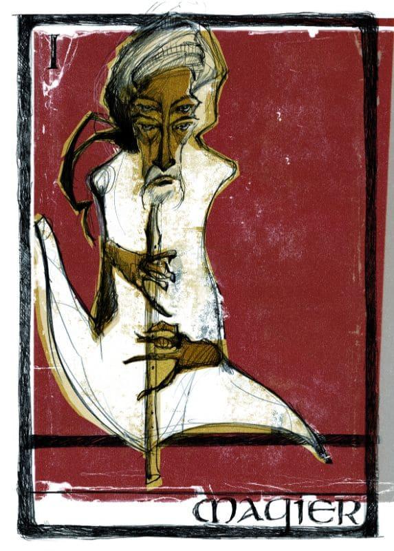 Tarotkarten: Der Magier