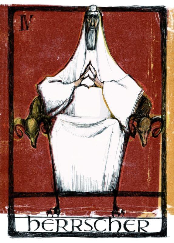 Tarotkarten: Der Herrscher