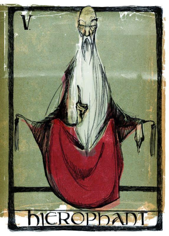 Tarotkarten: Der Hierophant