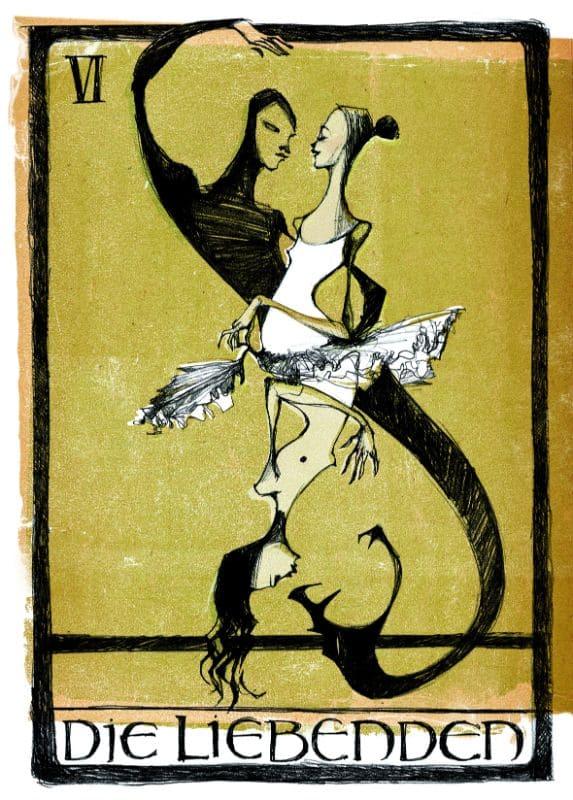 Tarotkarten: Die Liebenden