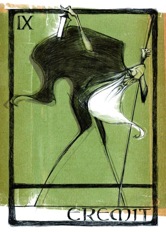 Tarotkarten: Der Eremit