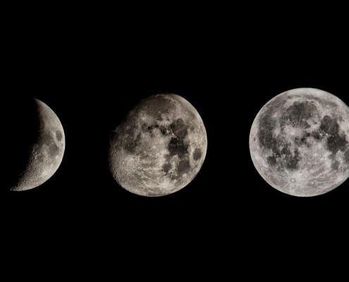 Der schrumpfende Mond