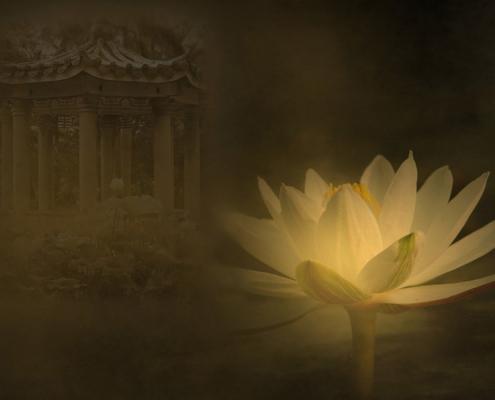 Götter des Hinduismus: Lakshmi und Vishnu
