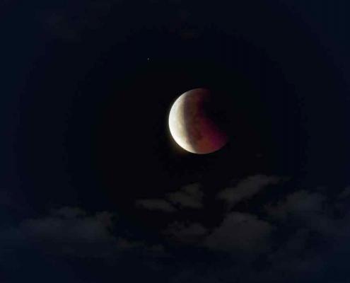 Am 10. Januar ist die Halbschatten-Mondfinsternis