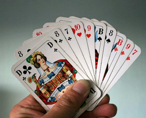 Kartenlegen mit Skatkarten - Wie es funktioniert