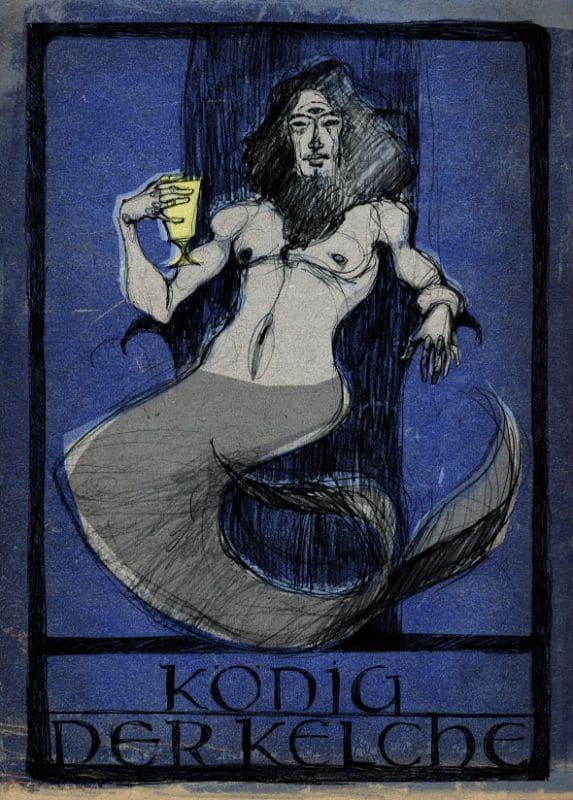 Tarotkarten: König der Kelche