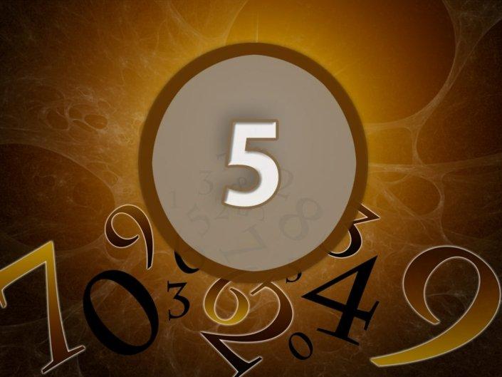 Numerologie Zahl 5 - Bedeutung & Berechnung